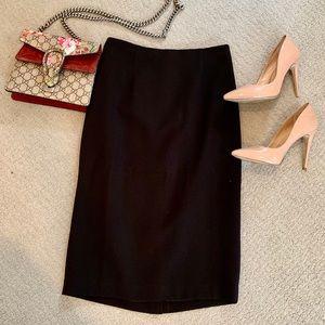 Halogen black professional skirt